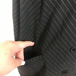 torrid Jackets & Coats - TORRID black stripes sleeveless casual vest 3